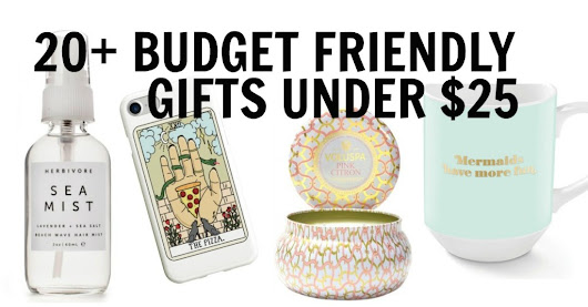 20+ Budget Friendly Gifts For Your Best Friend