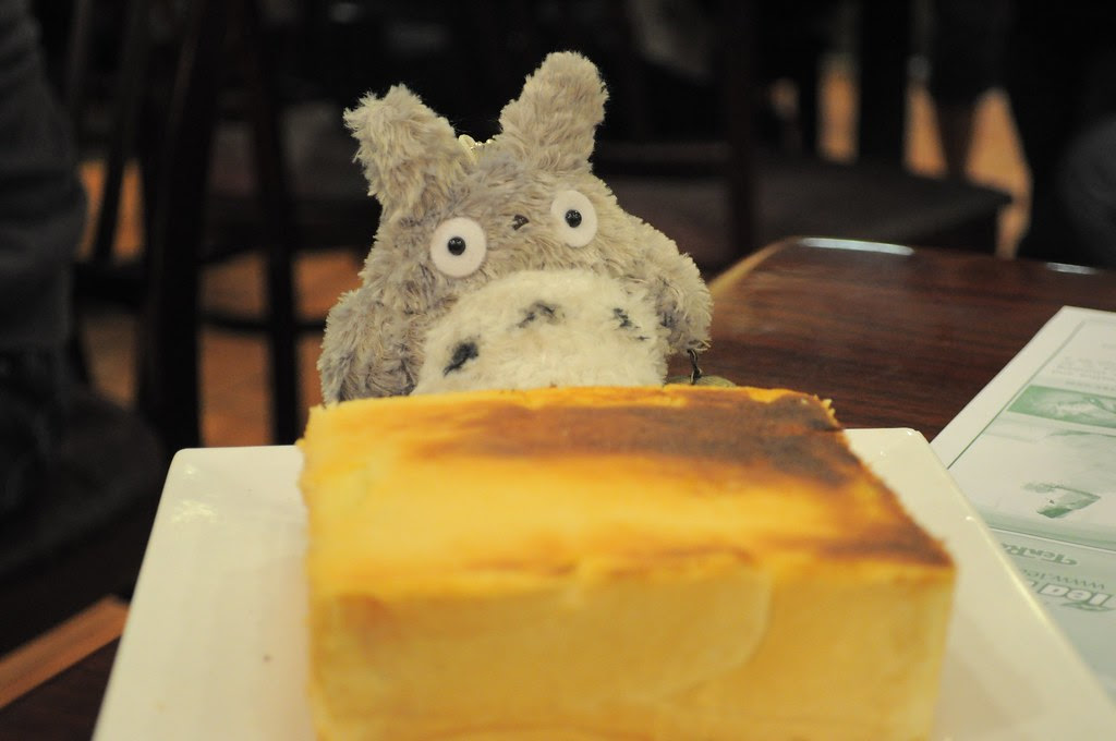 totoro and sweet butter toast