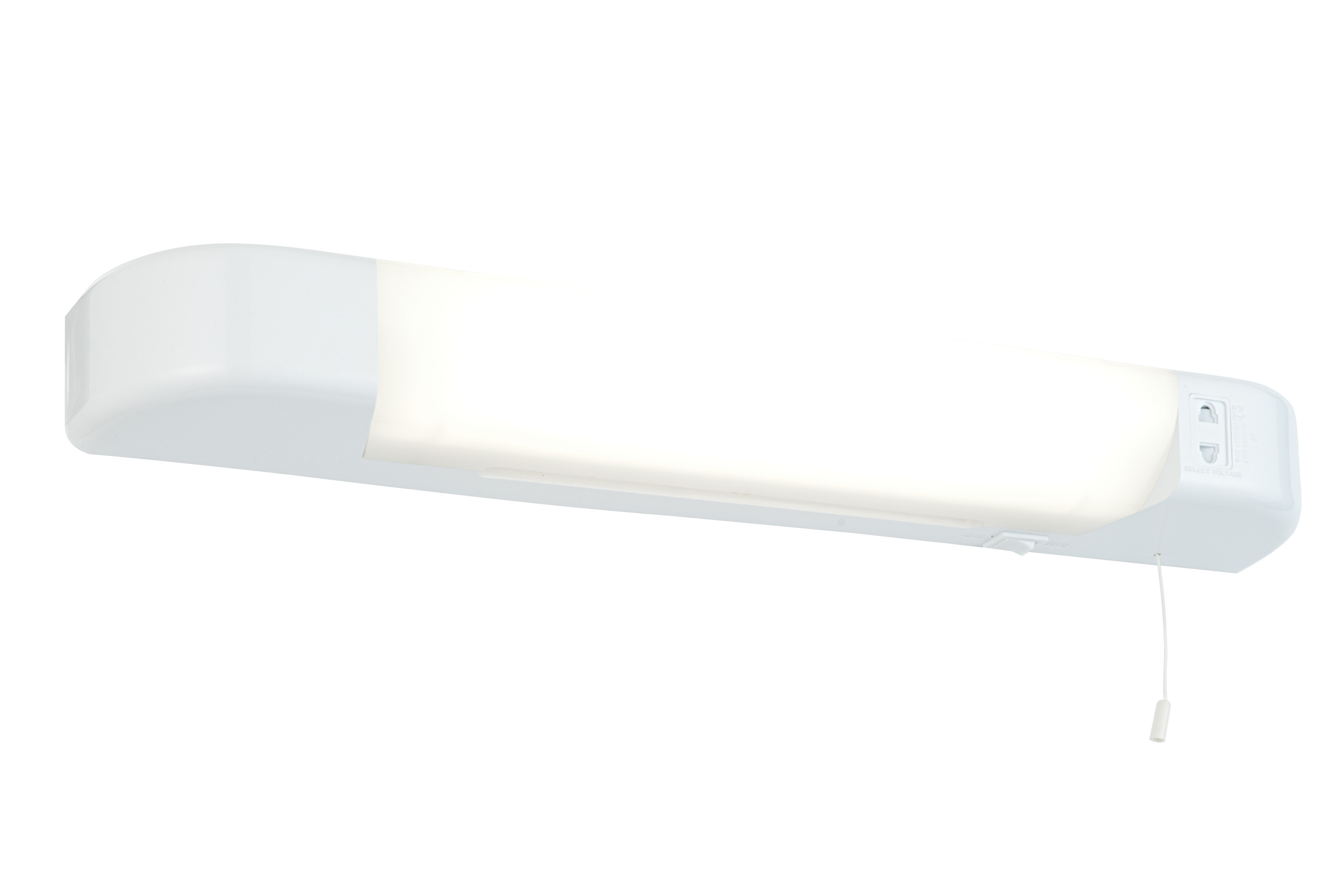 25w Chrome Ip44 Bathroom Wall Light With Pull Cord Switch