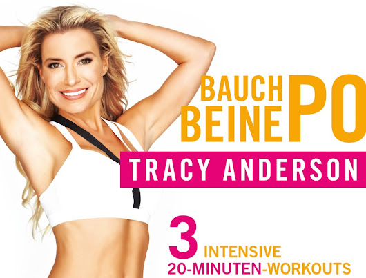 Tracy Anderson Bauch Beine Po Training - Fitness DVD