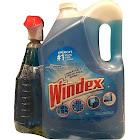 Windex Original Glass Cleaner, 32 fl oz & 176 fl oz Refill