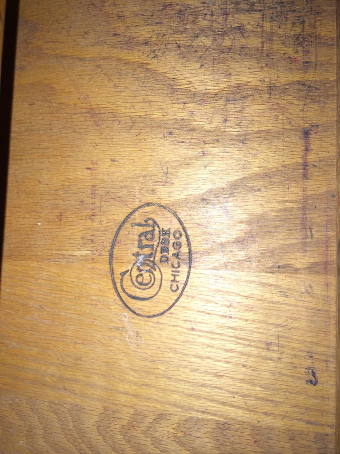 Chicago Desk Company - My Antique Furniture Collection