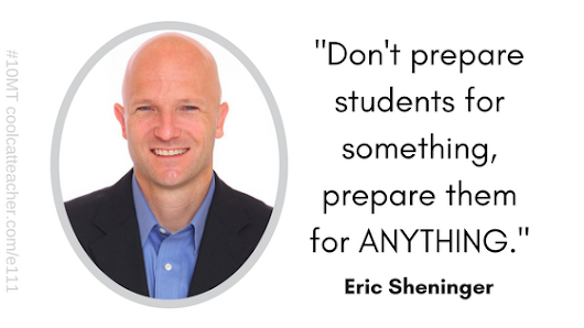 Transform Learning this School Year with Eric Sheninger @coolcatteacher