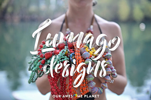 LUMAGO DESIGNS: Literally, From Trash To Beautiful Jewelry! (OUR AWESOME PLANET)