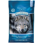 Animal Supply Company BB10534 Wilderness Chicken Formula Grain Free Dry Dog Food - 22 lbs.