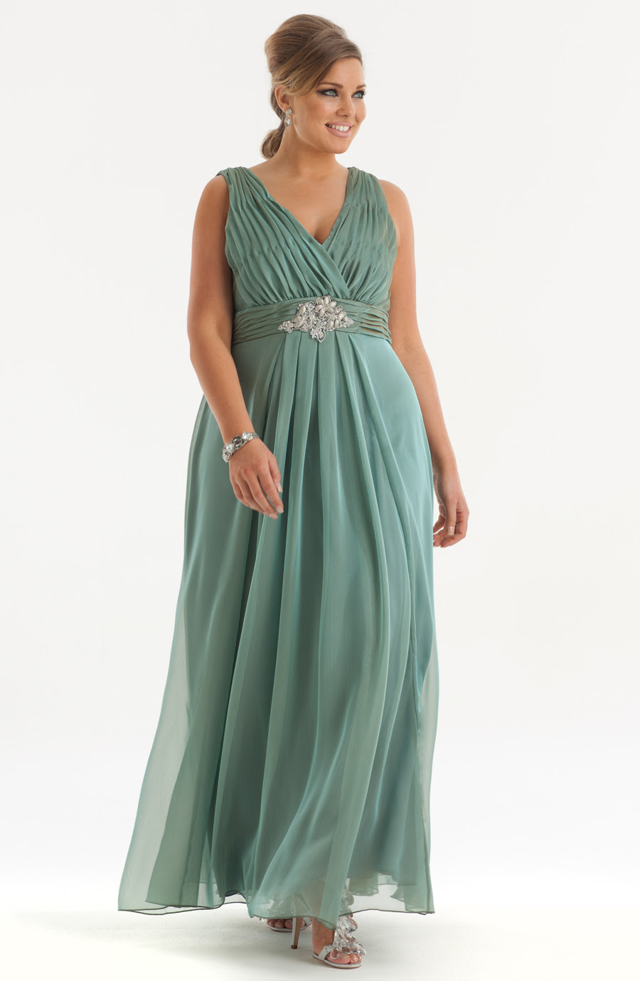 Plus size evening dresses on sale