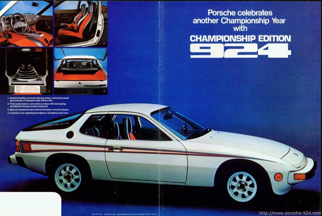 1977 Porsche 924 Martini Edition 1200 In Ct 2000