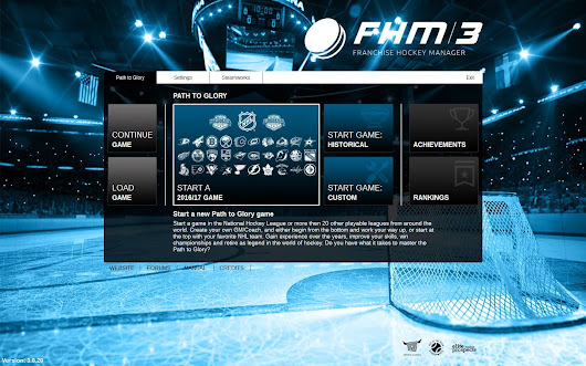Franchise Hockey Manager 3, Officially Licensed by the NHL - GM Games - Sports General Manager Video Games