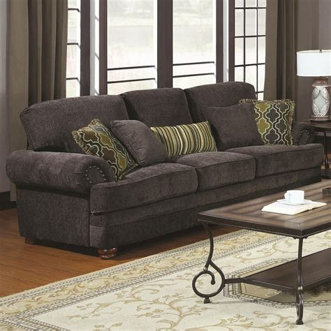 coaster colton  grey fabric sofa steal  sofa