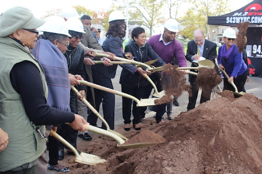 Q House Breaks Ground | New Haven Independent