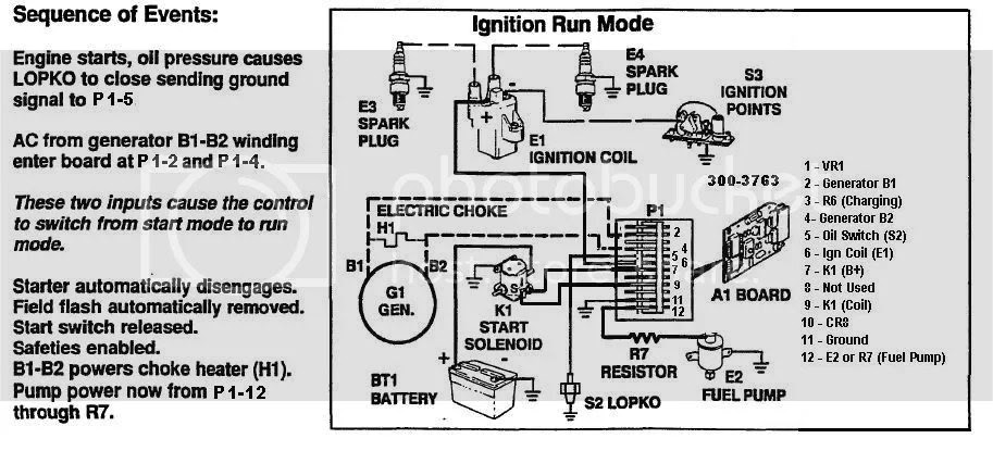 Wiring Diagram  33 Onan Generator Parts Diagram