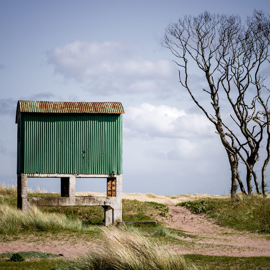Tentsmuir Beach Hut | Michael Mauderer Photography