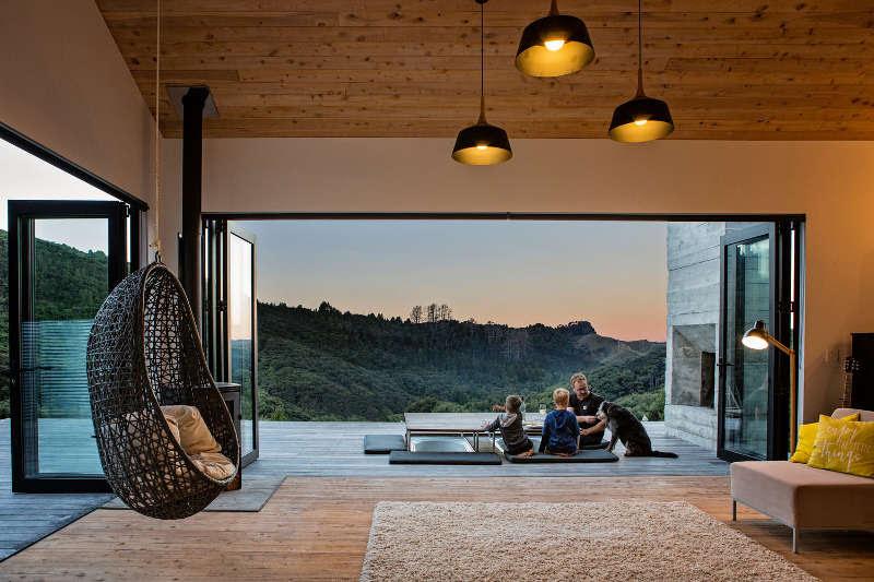 Ngôi nhà gỗ lãng mạn