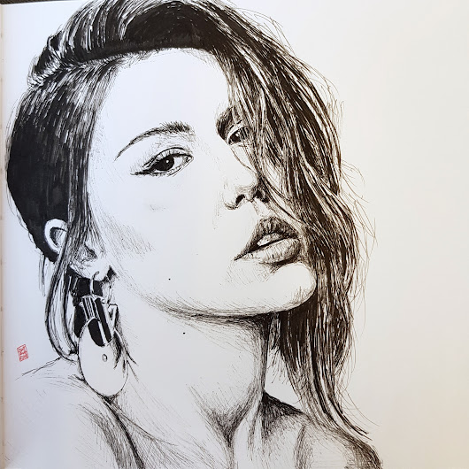 Friday face – Portrait of Adele Exarchopoulos