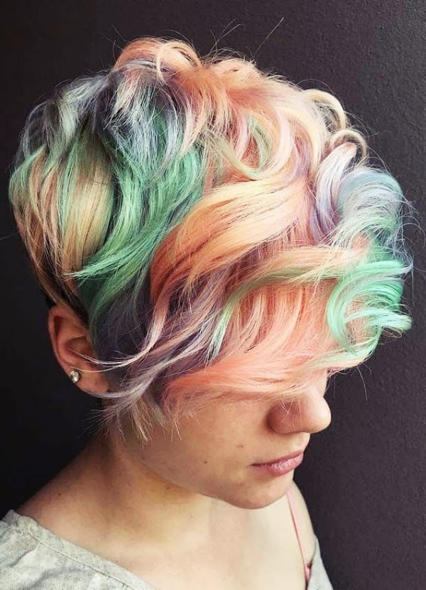 35 Different Hair Color Ideas for Short Hair - Fashion Enzyme