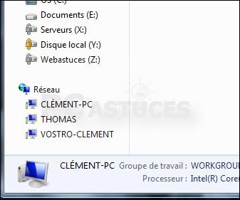 Masquer les ordinateurs du r seau dans le volet de l - Comment mettre icone sur bureau ...