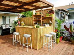 Dekorasi Desain Dapur Cafe Outdoor Terbaru