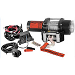 QuadBoss RP25WC 2500lb Winch with Wire Cable