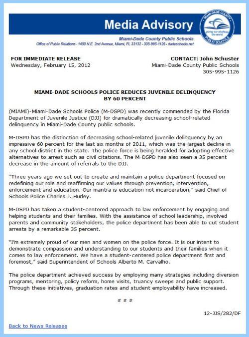 M-DSPD Media Advisory - Copy