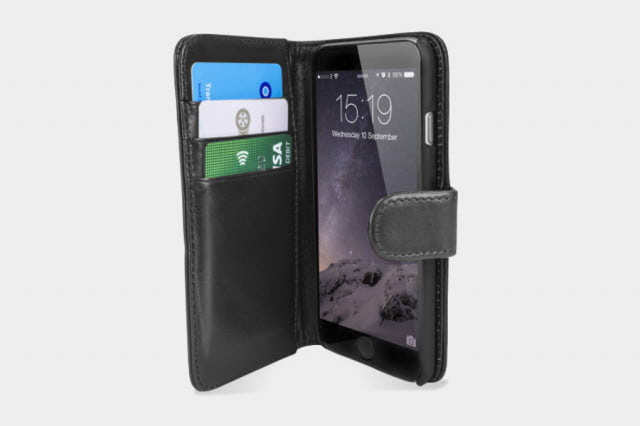 Encase Leather Wallet Case