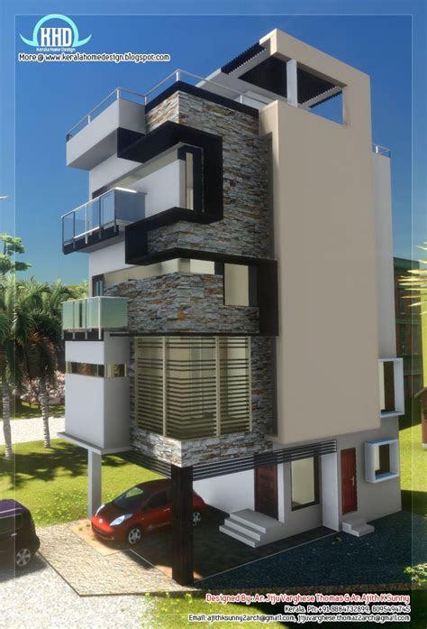 small plot narrow house design bunglows house design