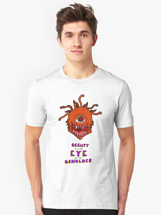 'Eye of the Beholder' T-Shirt by octicalillusion