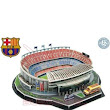 Puzzle 3D Estadio Camp Nou del FCB
