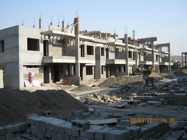 Row Houses & Twin Bungalows in Teerth Realties' Aarohi - 2 BHK & 3 BHK Flats - near Vidya Valley School - Sus Pune 411 021
