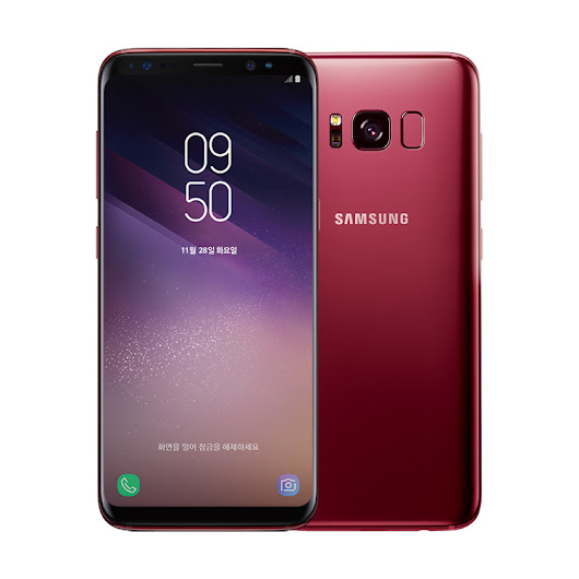 Samsung launches Burgundy Red Galaxy S8 in South Korea - Sammy Hub