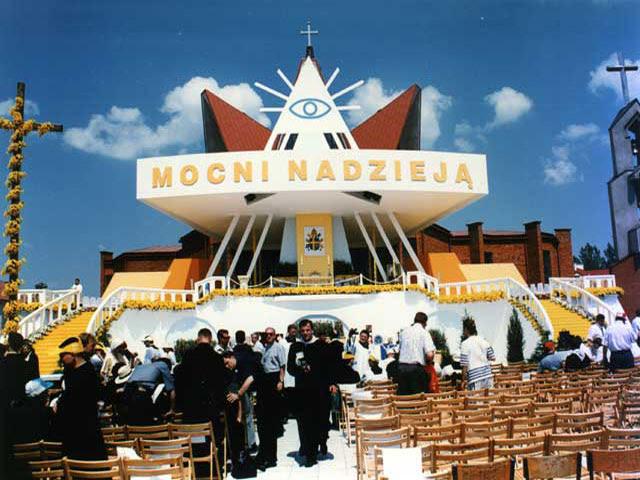 Eglise Catholique à Zamosciuen Pologne