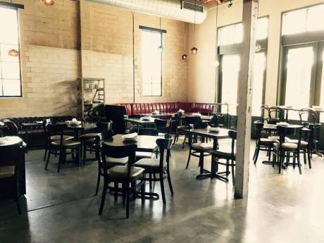 An entrepreneur is turning unused Austin restaurant space into co-working destination during the day Switch Cowork debuted this week at Burn Pizza + Bar