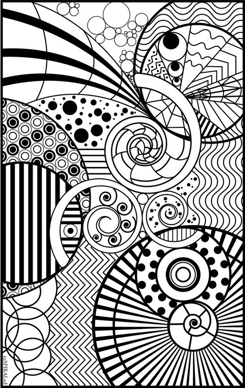 inSPIRALed Coloring Page | crayola.com