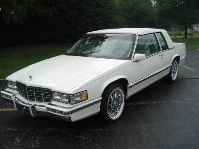 NO RESERVE 1991 Cadillac Coupe Deville All Original TRIPLE ...
