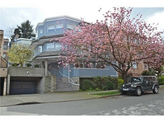"5 1234 W 7TH Avenue in Vancouver: Fairview VW Townhouse for sale in ""Magnolia"" (Vancouver West)  : MLS(r) # V1115153"