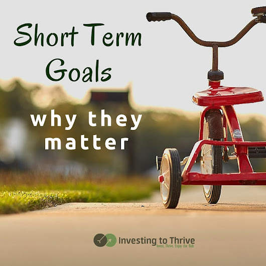 Short Term Goals Can Help You Reach Long Term Goals