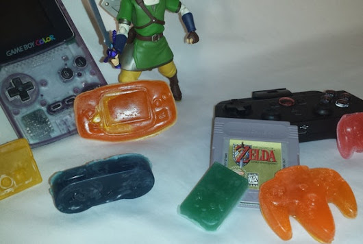 Nintendo Gaming Soap Set by NWAbbeySoap on Etsy