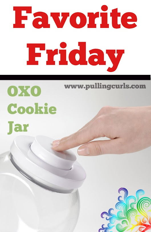 The best cookie Jar ~ Pulling Curls Blog