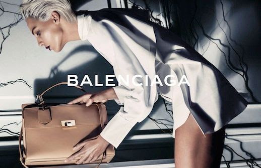 LE FASHION BLOG BALENCIAGA SS 2014 AD CAMPAIGN DARIA WERBOWY BY STEVEN KLEIN MODEL DARIA WERBOWY BY STEVEN KLEIN SPRING SUMMER COLLECTION SHORT BLEACH BLOND HAIR PIXIE CUT SLICKED BACK DARK VAMPY LIPSTICK CLASSIC MINIMAL WHITE CRISP SHIRT DRESS TAN LEATHER BAG 5 photo LEFASHIONBLOGBALENCIAGASS2014ADCAMPAIGNDARIAWERBOWYBYSTEVENKLEIN5.jpg