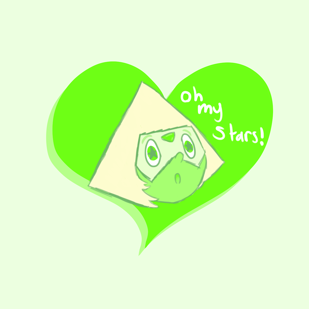 It's Peridot! She's so precious!