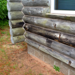 How to Spot Rotten Log Siding | Edmunds and Company