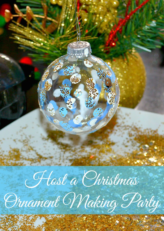 Host a Christmas Ornament Making Party – Miss Frugal Mommy