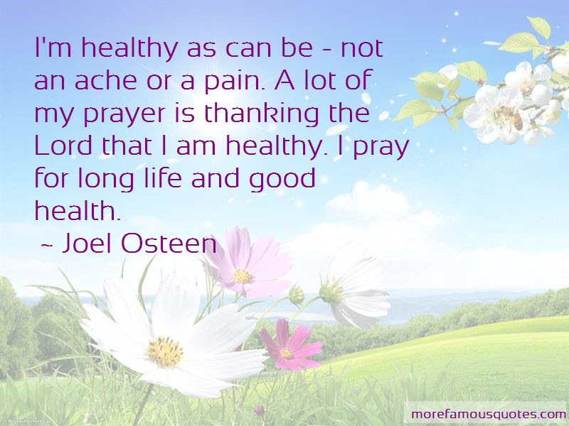 Pray For Good Health Quotes Top 12 Quotes About Pray For Good