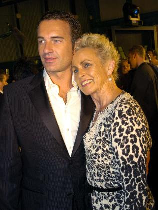 julian mcmahon and dannii. Julian McMahon pictured with