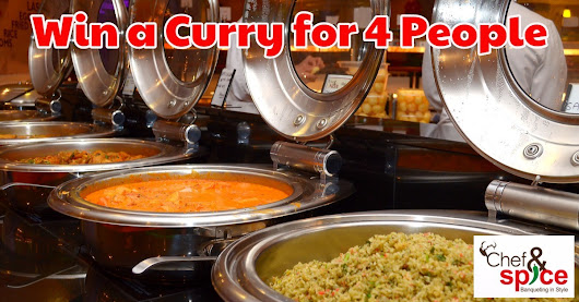 Free Prize Draw: Win a Delicious Curry for Four People at Chef & Spice in Leicester