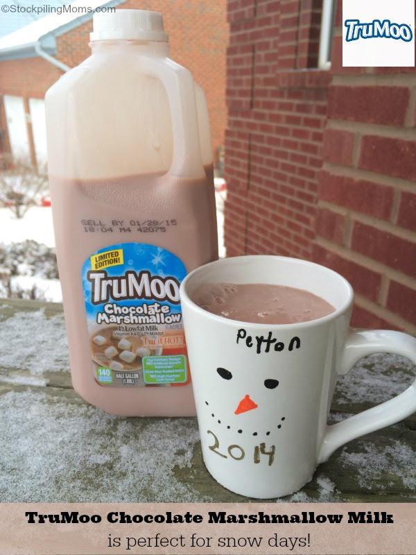 TruMoo Chocolate Marshmallow Milk - Perfect for Winter Fun
