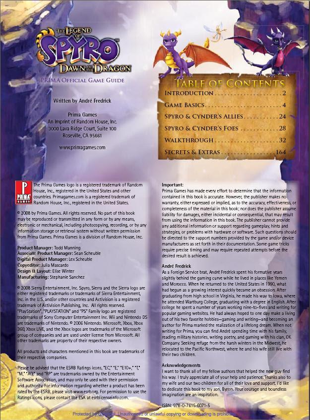 Game Ghost Warrior Spyro Dawn Of The Dragon Cheats