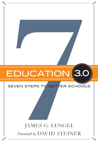 cover art for Education 3.0 book