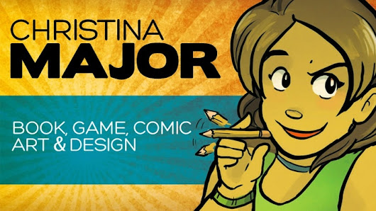 Support Christina Major creating comics, webcomics, board games and mischief.