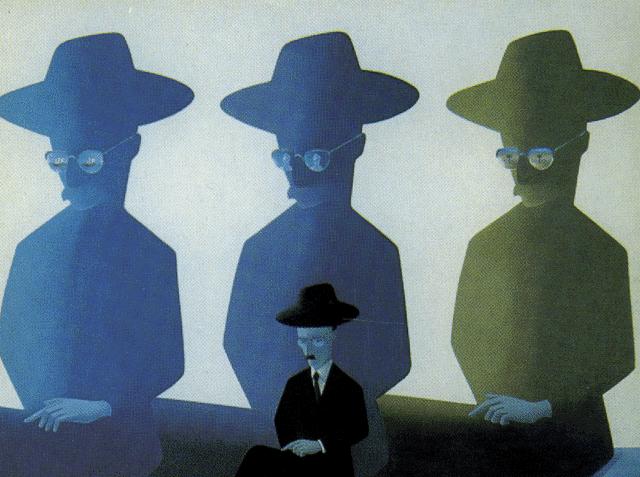 Costa Pinheiro. Fernando Pessoa e os heterónimos. 1978.