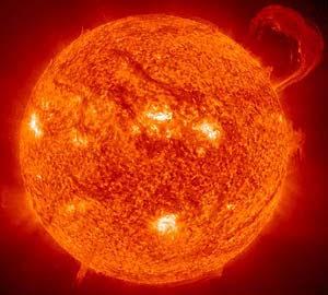 Imagen captada por la nave Soho (Foto: NASA)